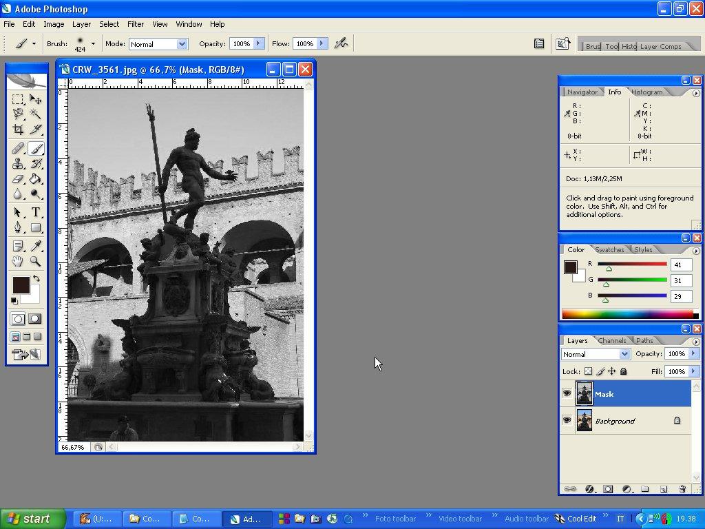 Photoshop tutorial italiano - Scontornare e sostituire ...