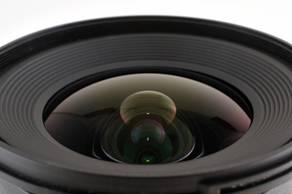 78246a7976 Una lente frontale di un obiettivo. La lente è ...